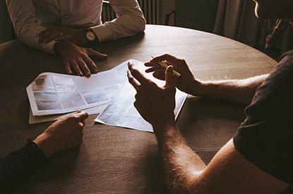 Coaching de l'entreprise, réunion client