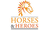 logo Horses and Heroes